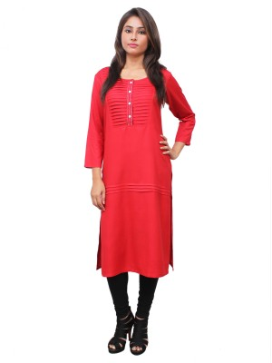 Magnogal Red Kurti For Women RS-7700-N