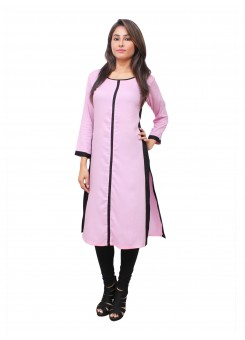 Magnogal Pink Kurti For Women RS-7700-O