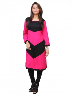 Magnogal Pink Kurti For Women RS-7700-P