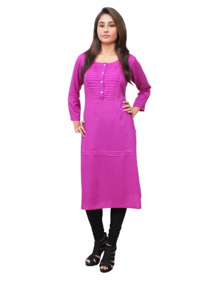 Magnogal Purple Kurti For Women RS-7700-S