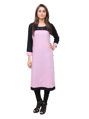 Magnogal Pink Kurti For Women RS-7700-T