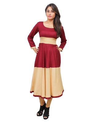 Magnogal Multi-Coloured Kurti For Women RS-7700-Y