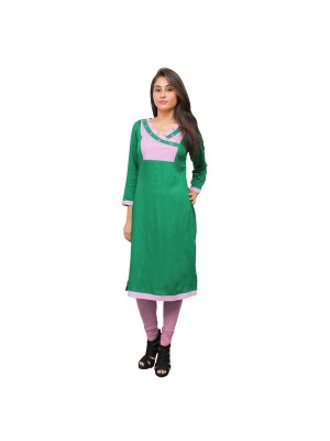 Magnogal Green Kurti For Women RS-7800-A