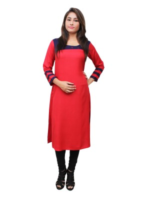 Magnogal Red Kurti For Women RS-7800-F