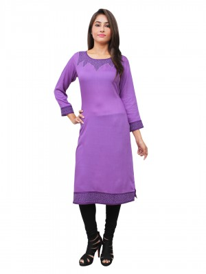 Magnogal Purple Kurti For Women RS-7800-G