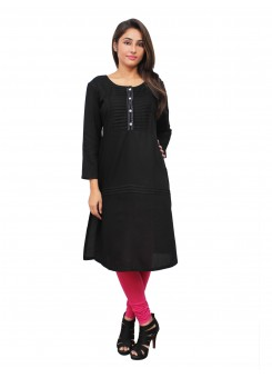 Magnogal Black Kurti For Women RS-7800-K