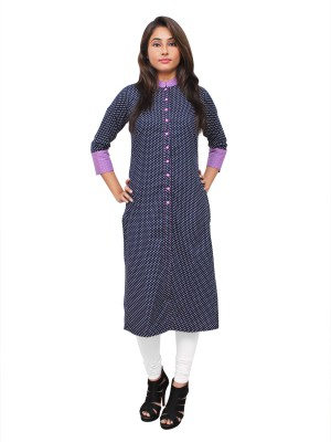 Magnogal Blue Kurti For Women RS-7800-O