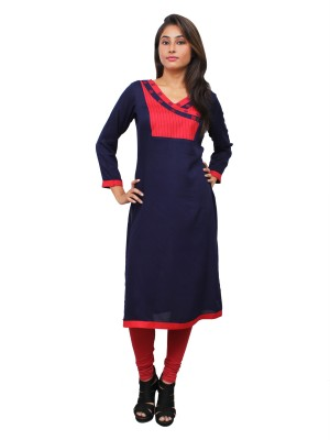 Magnogal Blue Kurti For Women RS-7800-P