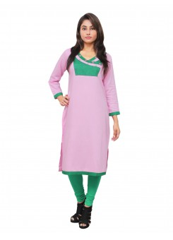 Magnogal Pink Kurti For Women RS-7800-Z