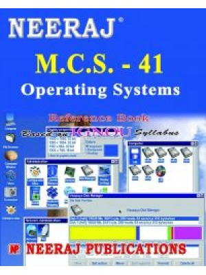 MCS - 041 Operating Systems - IGNOU Guide Book For MCS041 - English Medium