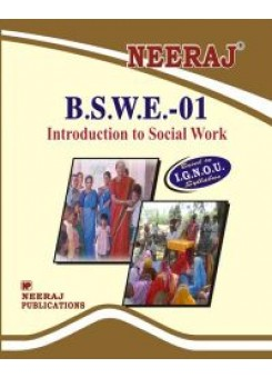 IGNOU : BSWE-1 Introduction To Social Work (ENGLISH)