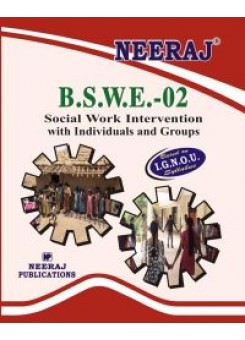 IGNOU : BSWE-2 Social Work (Individuals & Groups) in English
