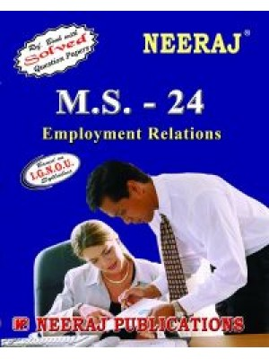 IGNOU: M.S. - 24 Employment Relations