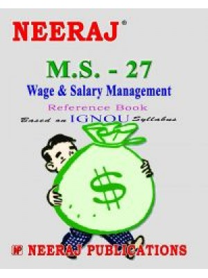 IGNOU: M.S. - 27 Wages & Salary Management