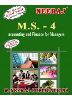 IGNOU : MS - 4 Accounting & Finance For Managers