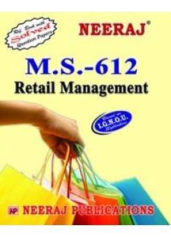 IGNOU : MS - 612 Retail Management
