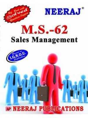 IGNOU : MS- 62 Sales Management