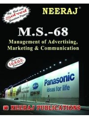 IGNOU : MS - 68 Management Of Marketing Communication & Advertising