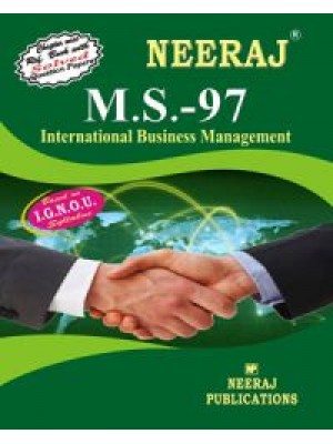 IGNOU : MS - 97 International Business Management