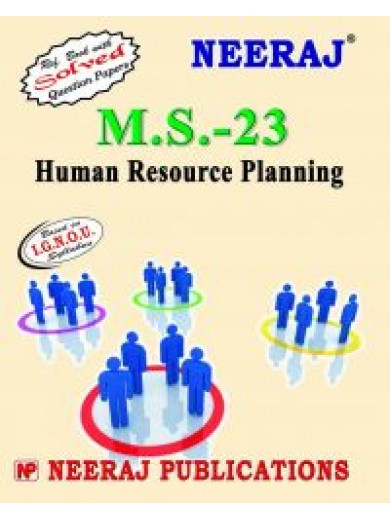 IGNOU : MS - 23 Human Resource Planning