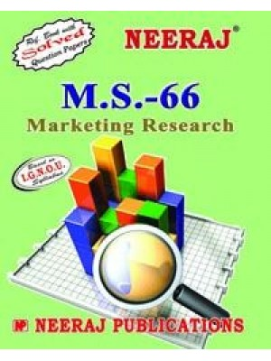 IGNOU : MS - 66 Marketing Research