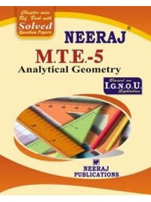 IGNOU : MTE - 5 Analytical Geometry