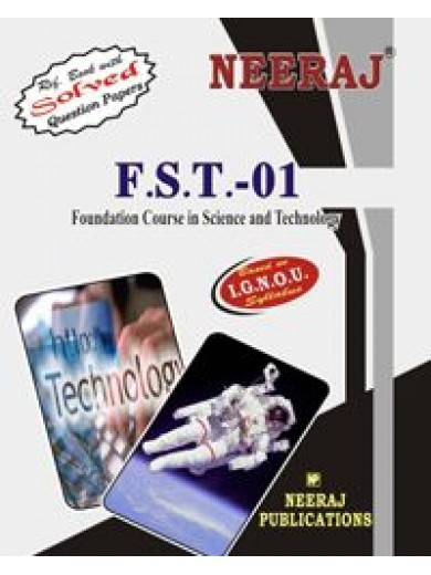 IGNOU FST-1  Foundation Course In Science & Technology (ENGLISH)