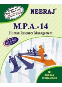 IGNOU : MPA - 14 HUMAN RESOURCE MANAGEMENT (ENGLISH)