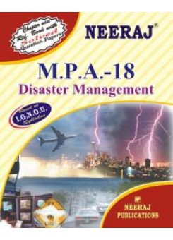 IGNOU : MPA - 18 Disaster Management (ENGLISH)