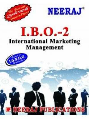 IBO-2 International Marketing Management - IGNOU Guide Book For IBO2 - English Medium
