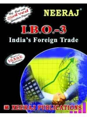 IGNOU IBO-3 India's Foreign Trade ENGLISH