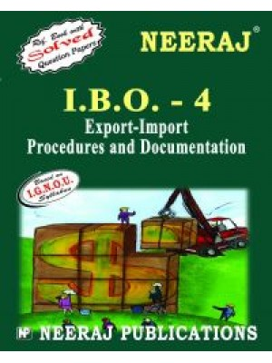 IBO-4 Export-Import Procedure & Documentation - IGNOU Guide Book For IBO4 - English Medium