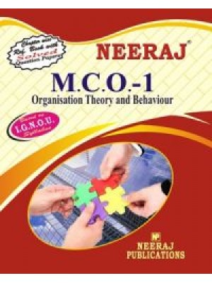 MCO-1 Organisation Theory & Behaviour - IGNOU Guide Book For MCO1 - English Medium