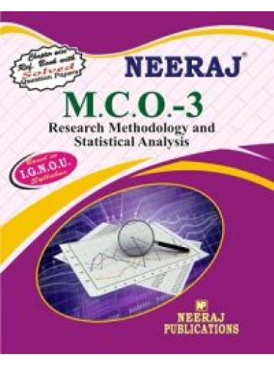 IGNOU : MCO-3 Research Methodology & Statistical Analysis (ENGLISH)