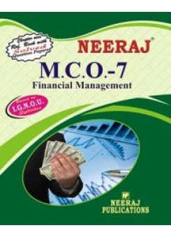 IGNOU : MCO-7 Financial Management (ENGLISH)