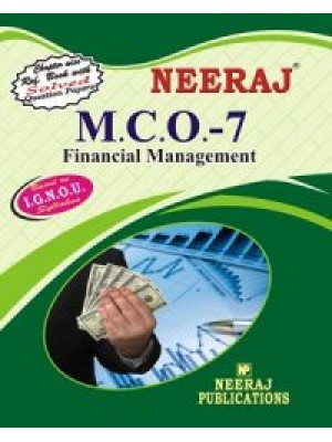 MCO-7 Financial Management - IGNOU Guide Book For MCO7 - English Medium