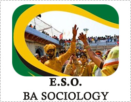IGNOU ESO BA Sociology Solved Assignments