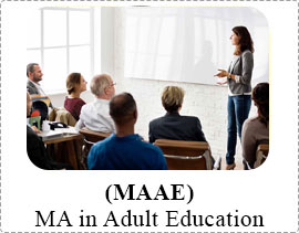 IGNOU MA in Adult Education MAAE)-Guide books