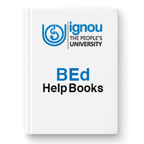 IGNOU BEd Help Books
